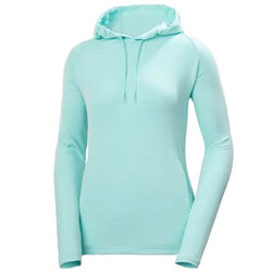 Helly Hansen Women's Verglas Light Hoodie - Glacier X-Small