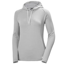 Helly Hansen Women's Verglas Light Hoodie - Fog Gray Large