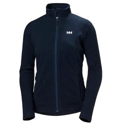 Helly Hansen Women's Daybreaker Fleece Jacket - Full Zipper, Navy Blue, 2XL