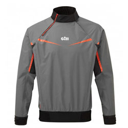 Gill Men's Pro Top - Steel Grey, Small
