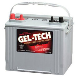 Gel-Tech Deep Cycle Marine Battery Group 24