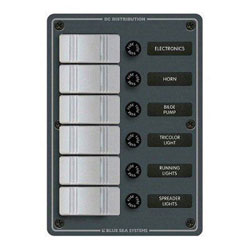 Blue Sea Systems Contura Water Resistant Switch Panel