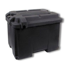 NOCO Commercial Marine Grade Dual Battery Box - Holds (2) 6 Volt Batteries