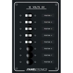 Paneltronics 8 Position Panel