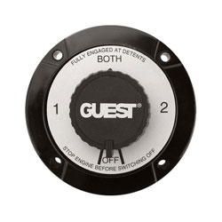 Guest Universal Mount Battery Selector Switch