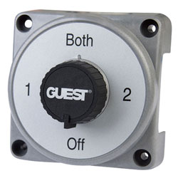 Guest Heavy-Duty Diesel Power Selector Battery Switch with AFD