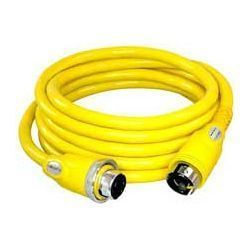 Furrion 50 Amp Heavy Duty Marine Cordset with Faultsmart LED - 50 ft.