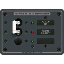 Blue Sea Systems AC Main Circuit Breaker Panel