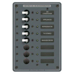 Blue Sea Systems AC Branch Circuit Breaker Panel (8059)