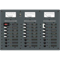 Blue Sea Systems Combination Circuit Breaker Panel (8084)