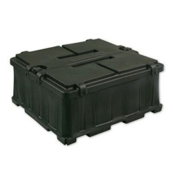 NOCO Commercial Marine Grade Dual Battery Box - (2) Group 8D Batteries