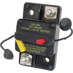 Blue Sea Systems 285-Series Circuit Breaker - 100 Amp