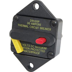 Blue Sea Systems 285-Series Circuit Breaker - 30 Amp (7081)