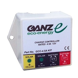 Ganz GCC 4.5 Amp Charge Controller