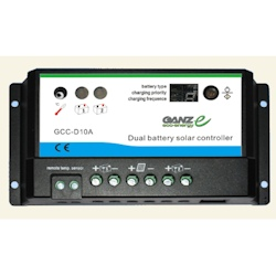 Ganz 10 Amp Dual Charge Controller
