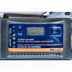 Sunforce 30 Amp Digital Charge Controller
