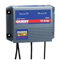 Guest 15 Amp ChargePro Battery Charger