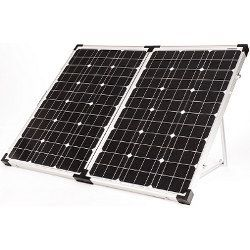 Go Power! 120 Watt Portable Solar Charger / Panel Kit - 120 Watt
