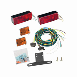Wesbar Waterproof 3x8 Low Profile Tail Light Kit
