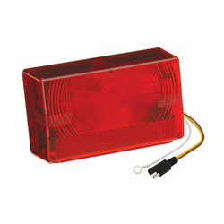 Wesbar Submersible 4x6 Low Profile Tail Light (403025)