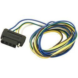 Wesbar 5-Way Flat Vehicle End Wire Harness - 48""