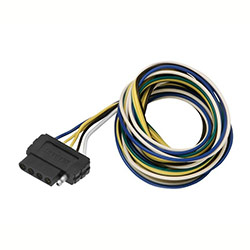 trailer lights and connectors from defender wesbar 5 way flat vehicle end wire harness 72