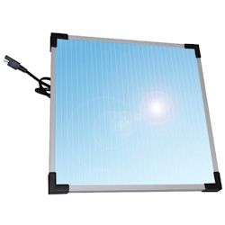 Sunforce 7 Watt Solar 12v Battery Trickle Charger Panel
