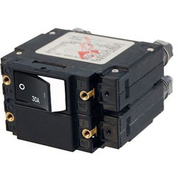 Blue Sea C-Series Rocker Circuit Breaker - 30 Amp