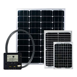 Go Power! GP-ECO-80 Eco Series Solar System - 80 Watt