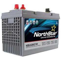 NorthStar Ultra High Performance Marine AGM Battery - Group 31 - Dual Purpose