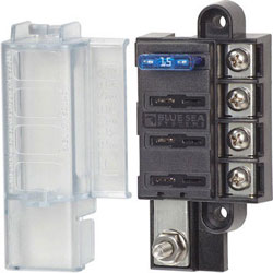 Blue Sea ST Blade Compact (4) Fuse Block