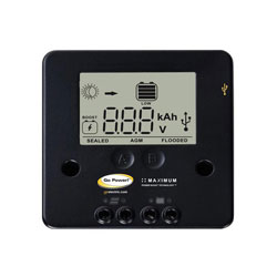 Go Power! 10 Amp PWM Digital Solar Controller
