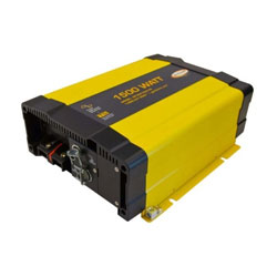 Go Power! 1500 Watt Pure Sine Wave Inverter with Built-in Transfer Switch