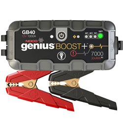 Noco Genius GB40 Boost Plus 1000 Amp UltraSafe Lithium Jump Starter