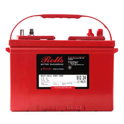Rolls Flooded / Sealed Deep Cycle Group 24 Marine Battery