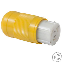 Marinco 50 Amp 125 Volt Locking Female Connector