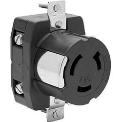 Marinco Dockside Locking Shore Power Receptacle (6370CR)