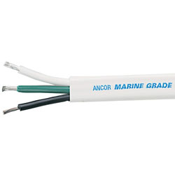 Ancor Marine Grade Flat Triplex Electrical Cable - 16/3