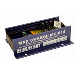 Balmar MC-614 Max Charge Multi-Stage Voltage Regulator with Harness