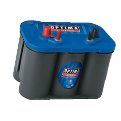 Optima Blue Top Optima Spiral Cell Starting Marine Battery