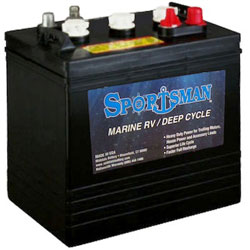 Sportsman Deep Cycle Marine Battery