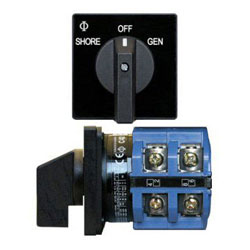 Blue Sea Systems AC Source Rotary Switch