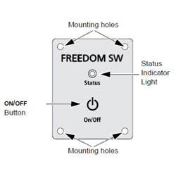 Xantrex Freedom Remote Panel