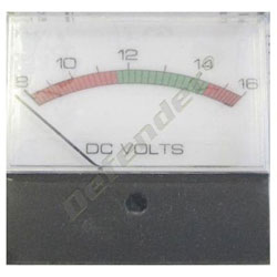 Newmar 8-16 DC Panel Analog Voltmeter