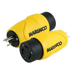 Marinco 15 Amp Male to 30 Amp Female Adapter