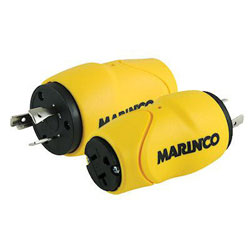 Marinco 20 Amp Male to 15 or 20 Amp Female Adapter