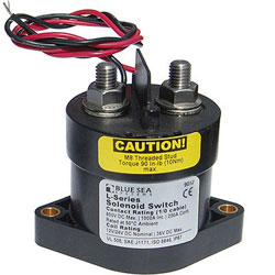 Blue Sea Systems L-Series Solenoid Switch - 12 / 24 Volt DC