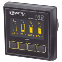 Blue Sea Systems M2 OLED (Organic LED) Digital Temperature Monitor