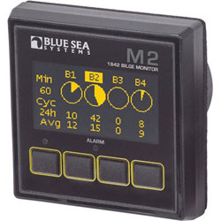 Blue Sea Systems M2 OLED (Organic LED) Digital Bilge Meter