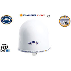 Glomex Altair V9126AGC HDTV Antenna Dome with Automatic Amplifier
